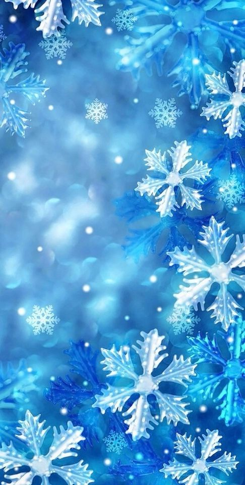 Evakiuraite Winter Wallpaper Wallpaper Iphone Christmas Snowflake Wallpaper