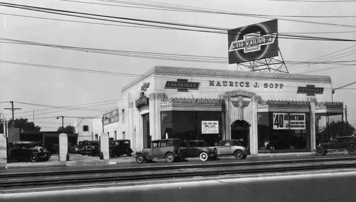 30s Chevy Dealership Still Going Strong Take That Romney You