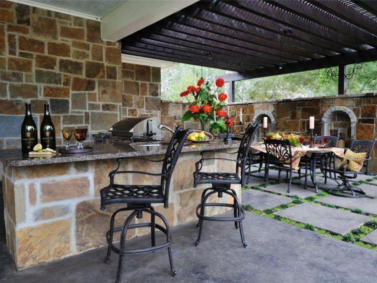 Terrasse et jardin 29 idées splendides d\u0027 aménagement! - meuble en fer design