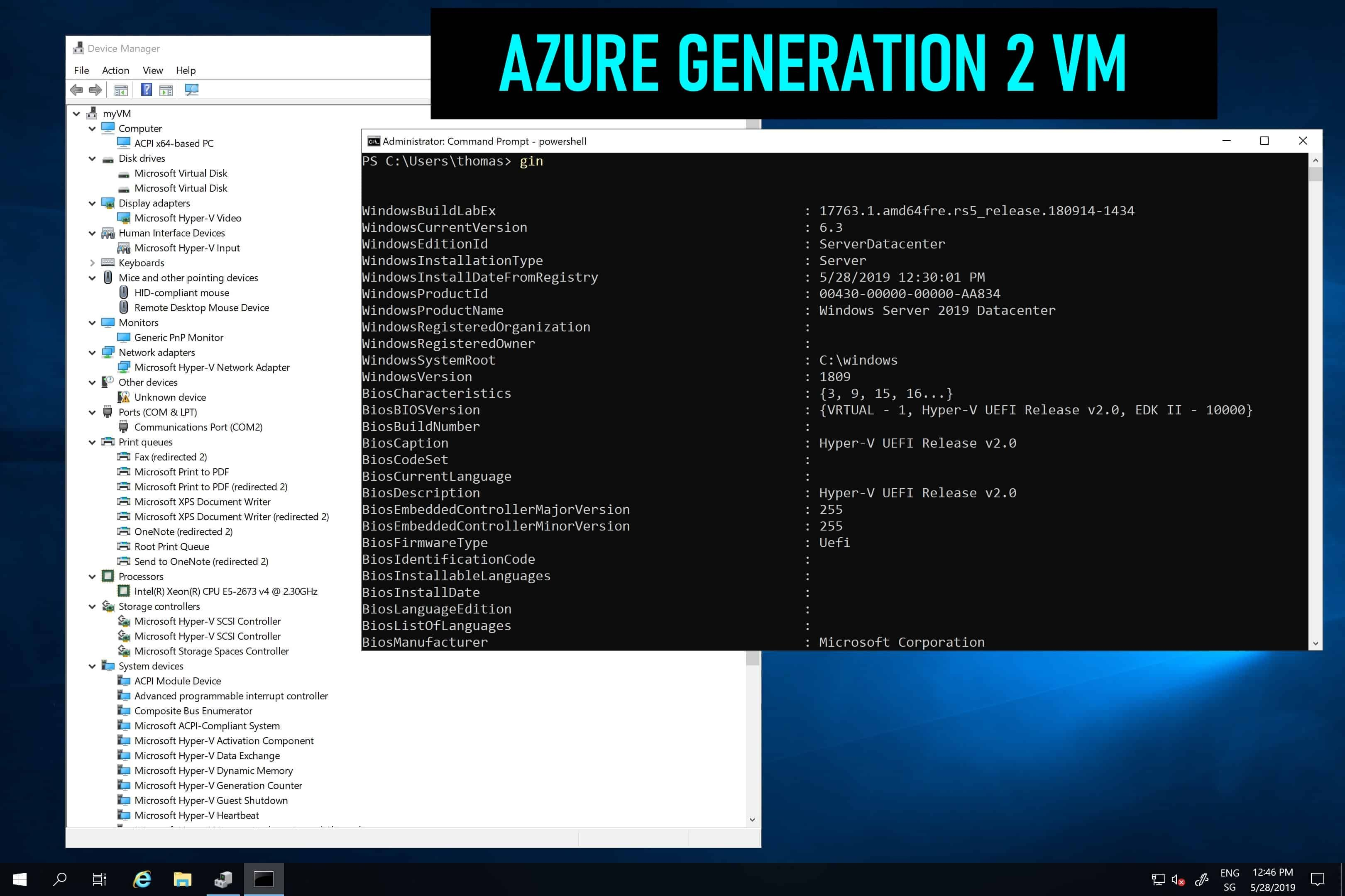 A Couple Of Days Ago Microsoft Announced The Public Preview Of Generation 2 Virtual Machines On Azure Generation 2 Virtual Machine Generation Supportive Azure