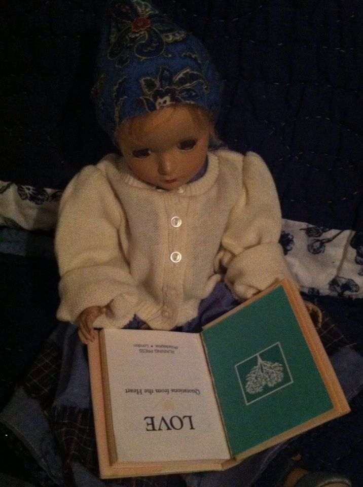 Pinner Camilla Rogers wrote: My peasant doll reading.
