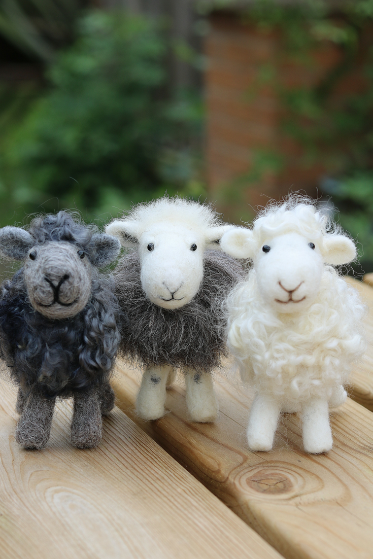 Needle felting kits for beginners onward. Hello creativity!