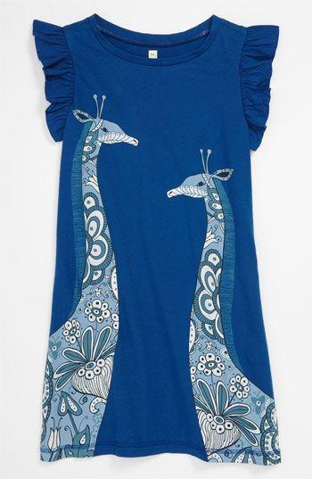 Tea Collection \'Giraffe\' Dress (Little Girls Big Girls) | Nordstrom ...