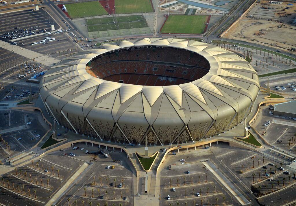 King Abdullah Sports City Stadium Al Jawhara Stadium Stadiumdb Com Stadium Architecture Football Stadiums Stadium