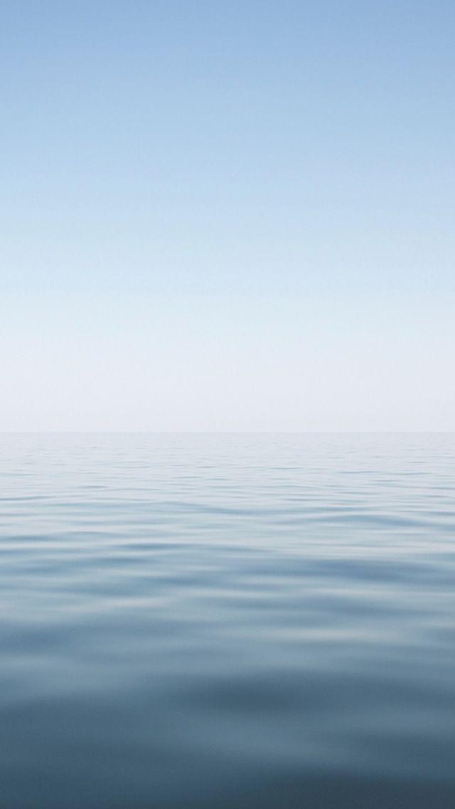 Clean Minimal Water Surface Landscape Iphone Wallpapers Papel De