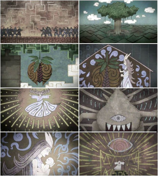 Theory SHINJU Life Cycle the forms of the Narutoverse GOD.