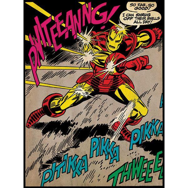 Art Iron Man So Far So Good graphique sur toile | Wayfair UK
