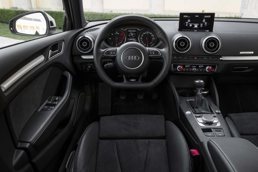 Audi A3 Sedan S Line Interior
