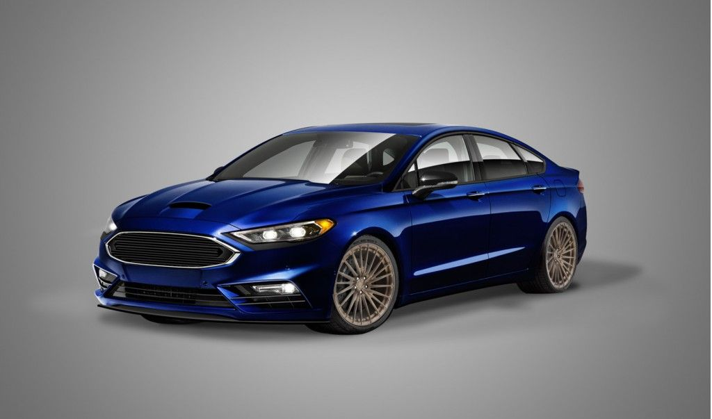 2017 Fusion Sport To Join Modified Ford Fleet At Sema Ford