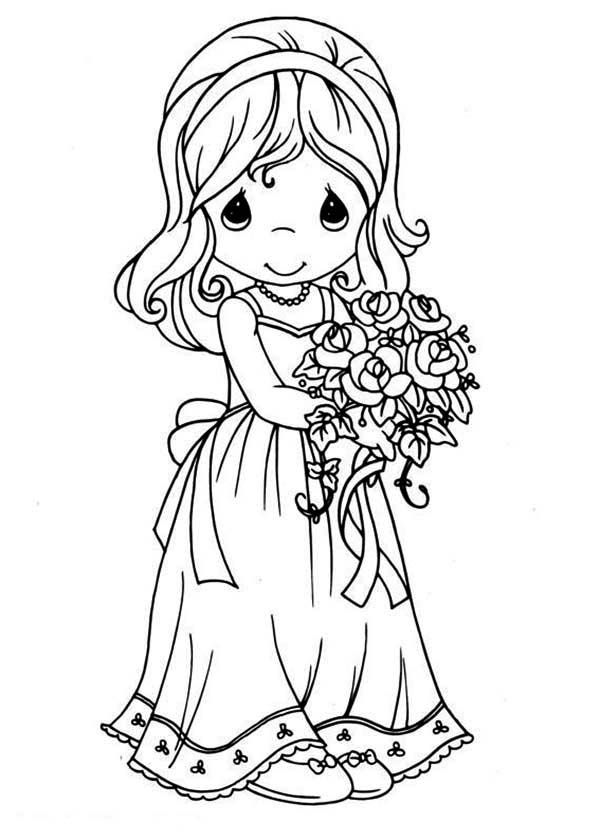 Precious Moments Puppy Kitty Coloring Pages | Jos Gandos Coloring ...