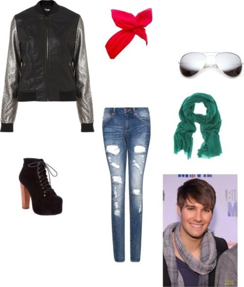 Pin By Emily Cintron On Big Time Rush Inspired Outfits Rush Outfits Fandom Outfits Cool Outfits