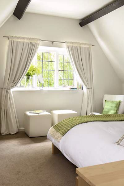 Enjoy the view into the Willow tree from the master bedroom