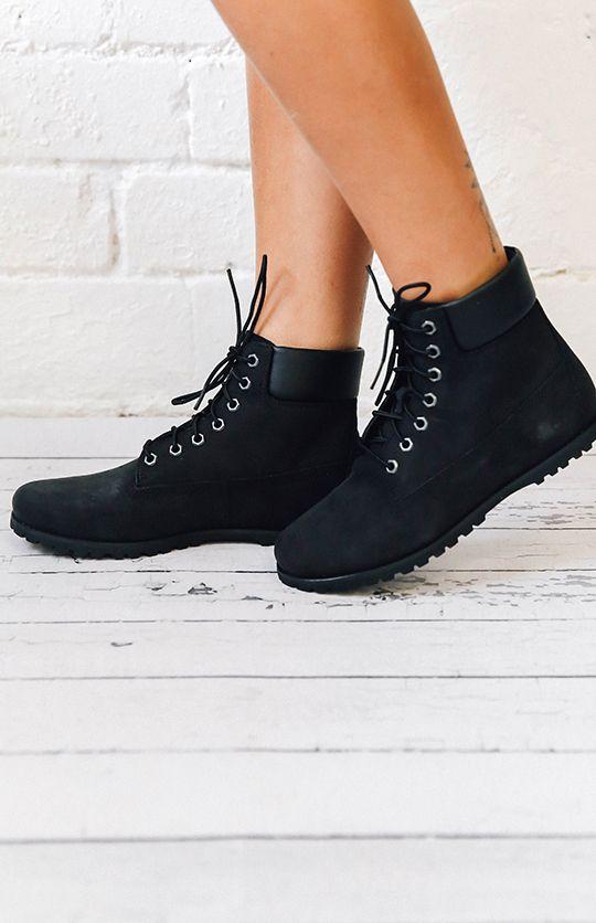black leather timberland womens chukka boots