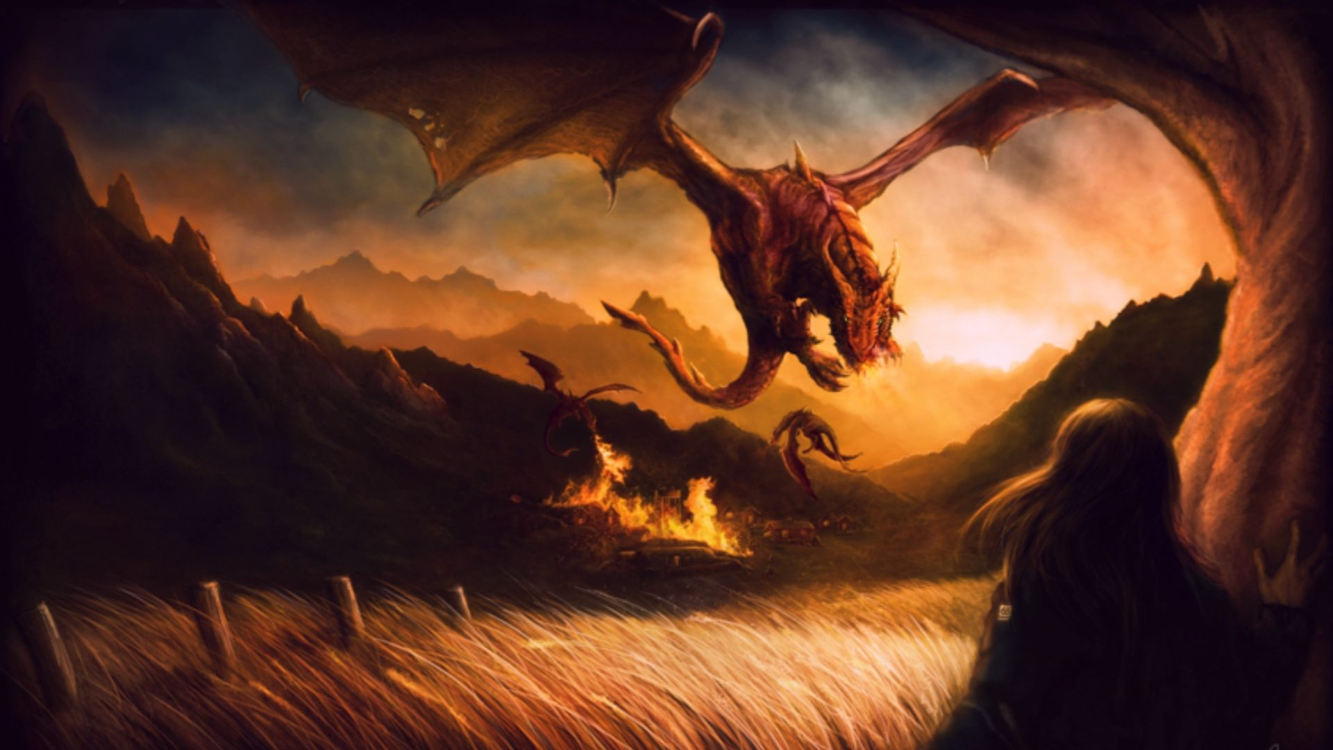 Download Fire Dragon Wallpapers Widescreen For Free Wallpaper Monodomo Fire Dragon Dragon City Dragon Artwork
