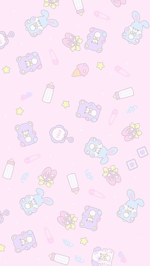 Wallpaper Kawaii And Cute Afbeelding Cute Pastel Wallpaper Kawaii Background Cute Wallpapers