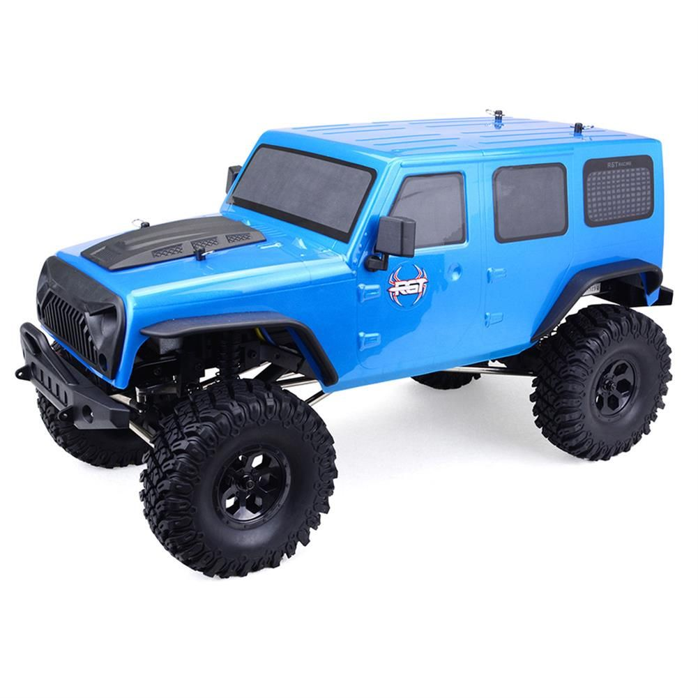 Shopping Rgt Ex86100 1 10 2 4g 4wd 510mm Brushed Rc Car Off Road Monster Truck Rock Crawler Rtr Toy Online Rcbuying Monster Trucks Rock Crawler Rc Cars
