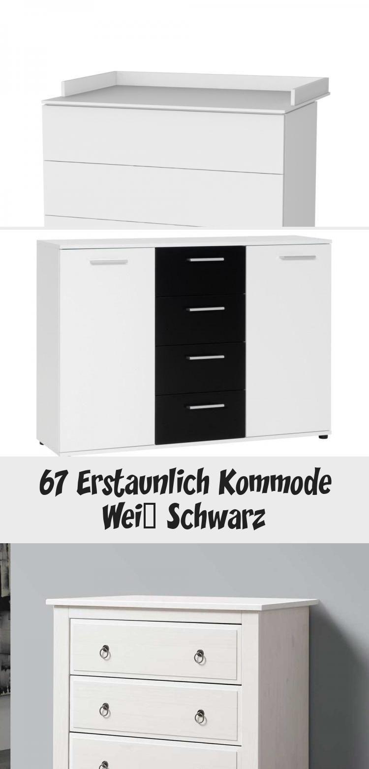 67 Erstaunlich Kommode Weiss Schwarz In 2020 Home Decor