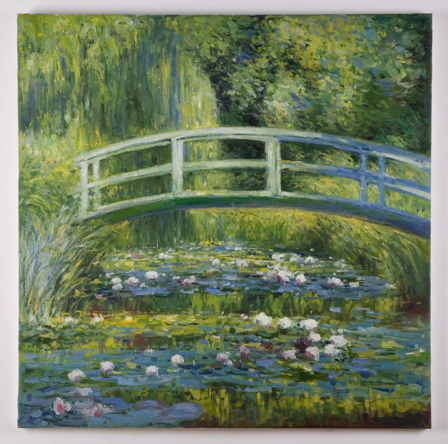 Monet And His Bridge Monet Water Lilies Water Lily Pond Monet