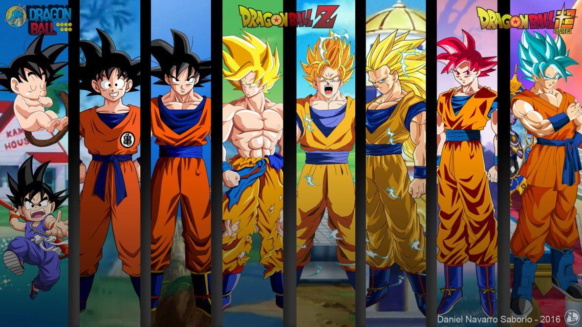 Goku Evoluciones Db Super Wallpaper By Danielns116 Deviantart Com
