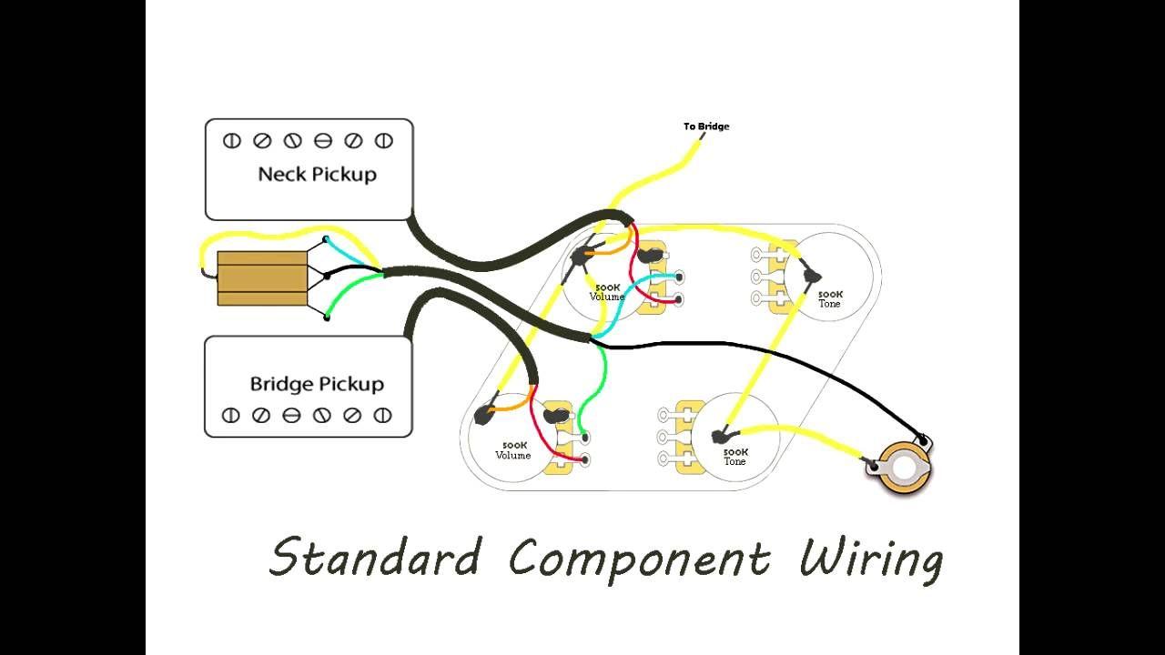 diy les paul wiring vintage versus modern [ 1280 x 720 Pixel ]