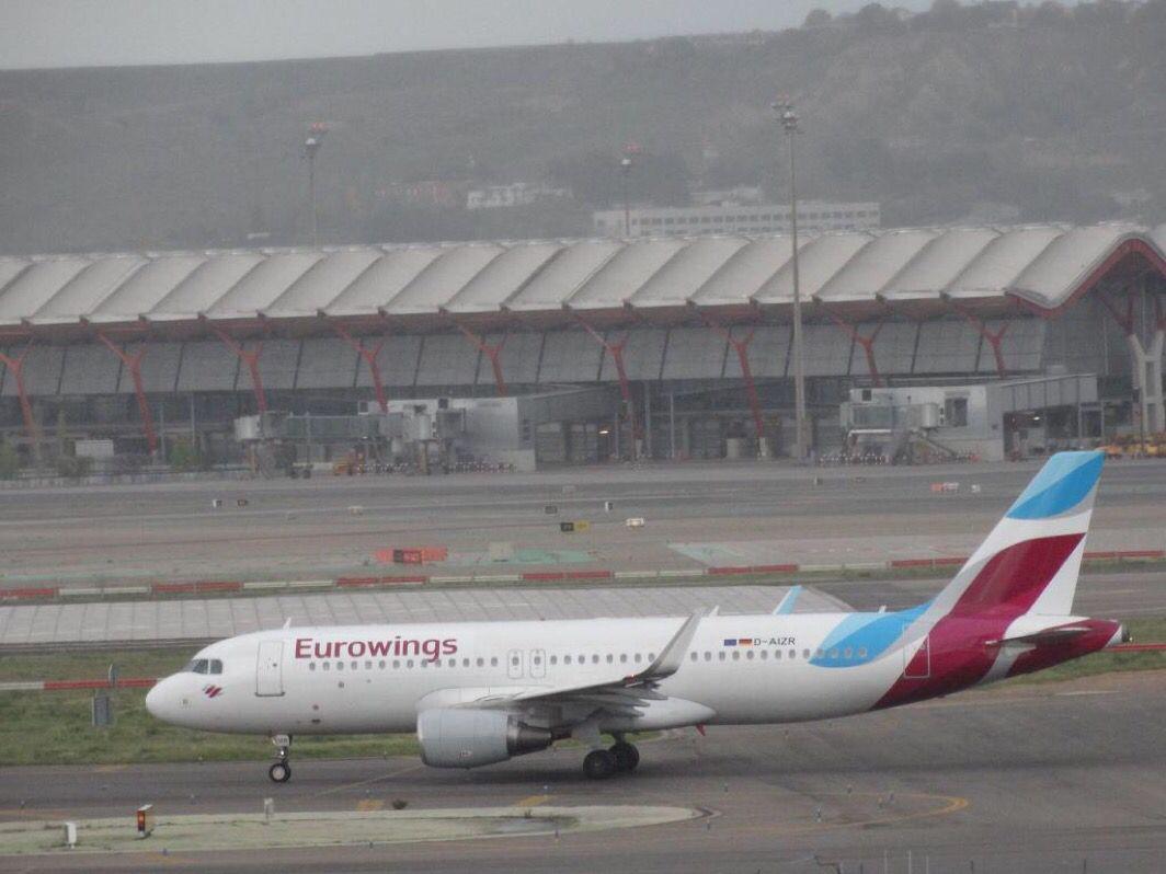 Barajas Eurowings A320