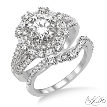 Shop our Holiday Collection: Bridal Engagement Set - [14120FVWG-WS-1.50]
