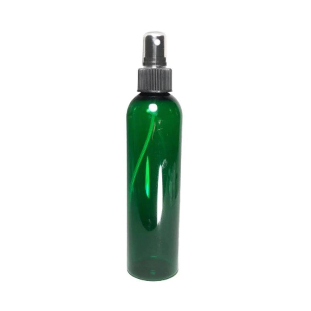 Plastic Pet Refillable Spray Bottles With Pump Overcap 8 Oz Green Spray Bottle Bottle Makeup Containers