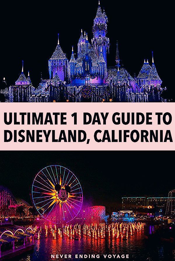 Photo of Disneyland & California Adventure in One Day: An Itinerary for Adults