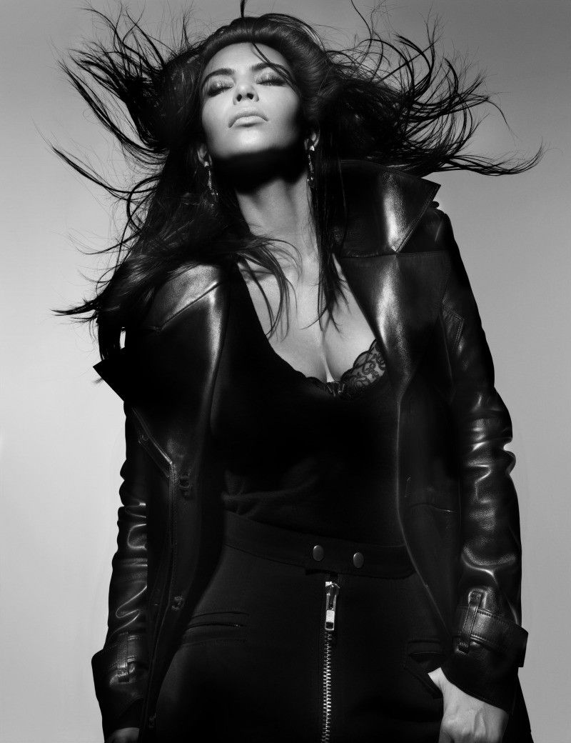 Leather jacket photoshoot - Hair