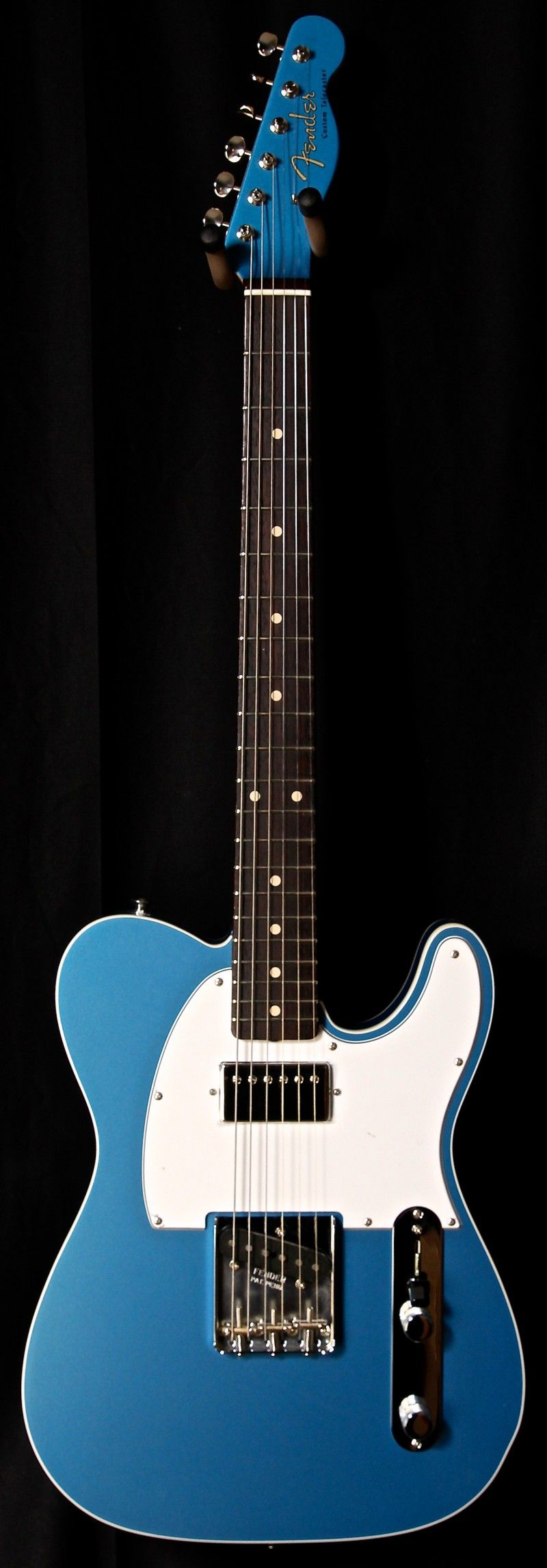 Fender Custom Shop '60 Reissue Telecaster Custom Lake Placid Blue - Jesse Gago Guitars