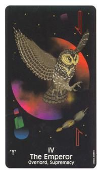 June 5 Tarot Card: The Emperor (Crow's Magick deck) Put your emotions on the back burner for now -- solid logic and a strong sense of self are where all the power lies