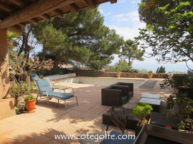 A Vendre Villa Mont Saint Clair Sud Vue Mer Sete 34200 Bord De La Mer Villa Et Maison