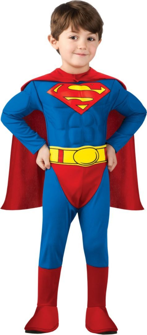 8fa8ae6a0 Toddler Boys Superman Muscle Costume - Party City | Halloween ...