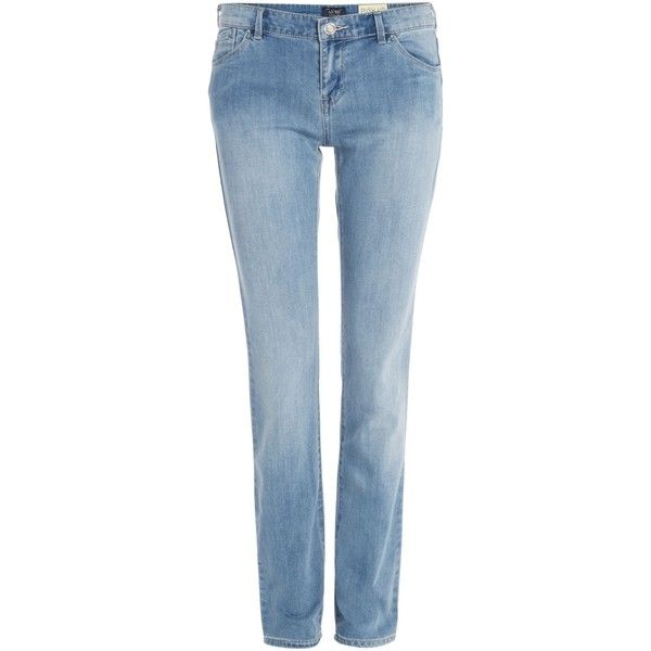 5850dc2a2ce Armani Jeans J23 Lily push up skinny jean in light wash (€225 ...