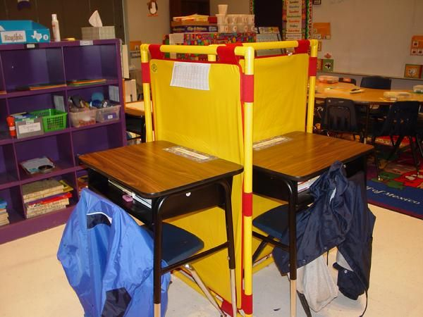 Space Saver Cubicles Autism Teaching Tools Classroom