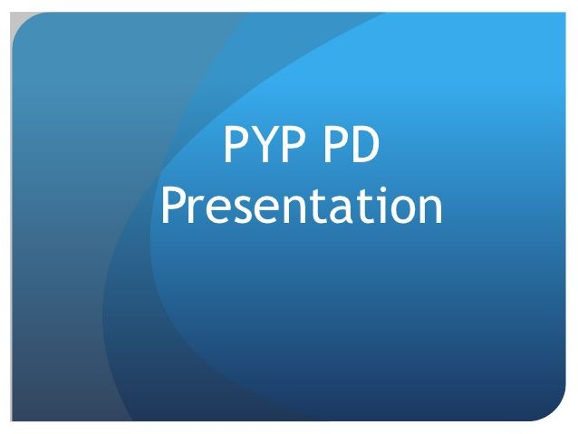 PYP planner for teachers