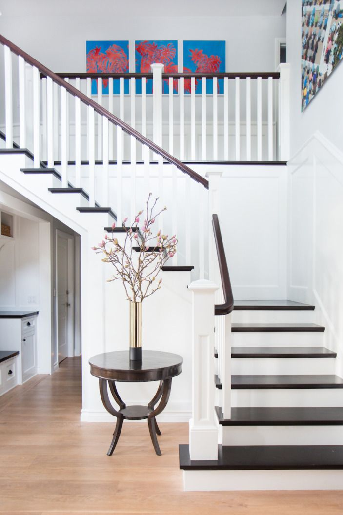 The main task in this renovation was remedying the mid 2000s contemporary renovation the previous owners did on the home donnie and ryan have more of a