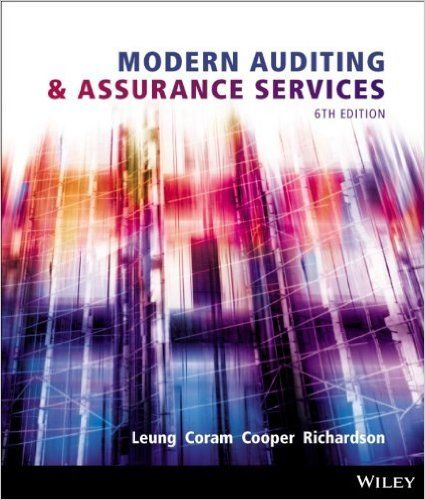 Modern auditing assurance services 6th edition by philomena leung modern auditing assurance services 6th edition by philomena leung apn isbn 13 fandeluxe Image collections
