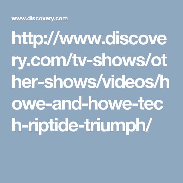 Discovery - Official Site