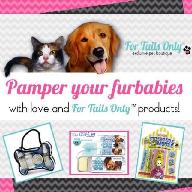 Have you Pampered your Pets Today? Let me help you with that. Shopping is always opened at www.fortailsonly.com/bobbielavner