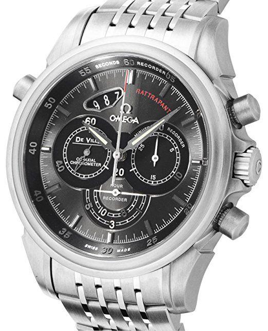 Omega 422.10.44.51.06.001 - Reloj , correa de acero inoxidable: Amazon.es: Relojes