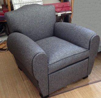 fauteuil club tissu Recherche Google poltronas