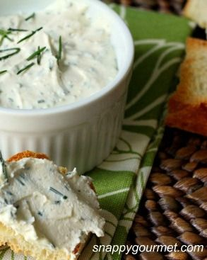 Rosemary Lemon Feta Spread is delicious served atop Town House Flatbread Crisps. This creamy appetizer recipe, garnished with Rosemary sprigs, is the perfect holiday appetizer!
