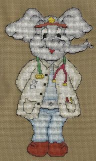 Campbell Creations: Dr. Eli the Elephant Doctor