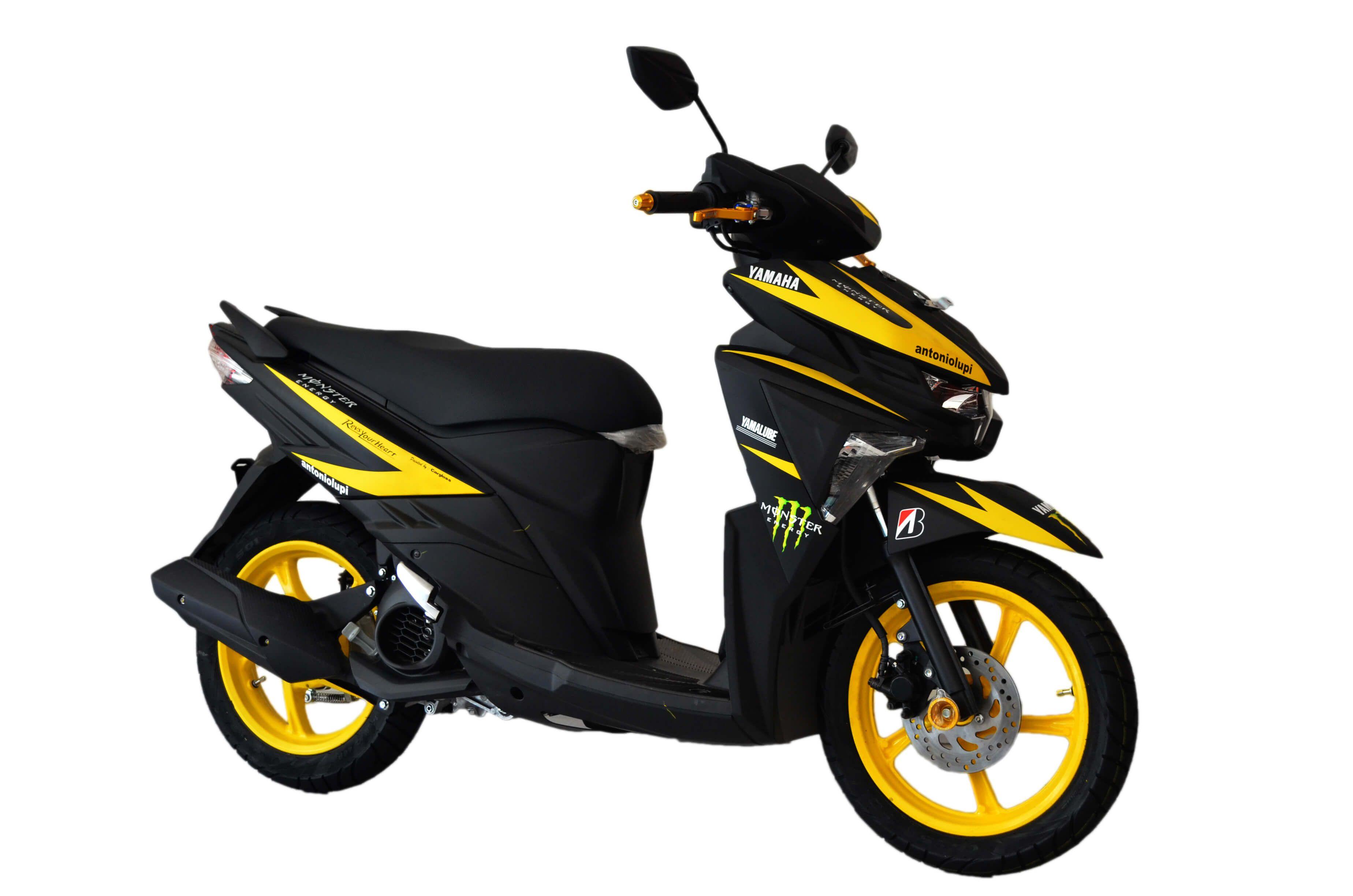 Modifikasi Motor Mio Z 125