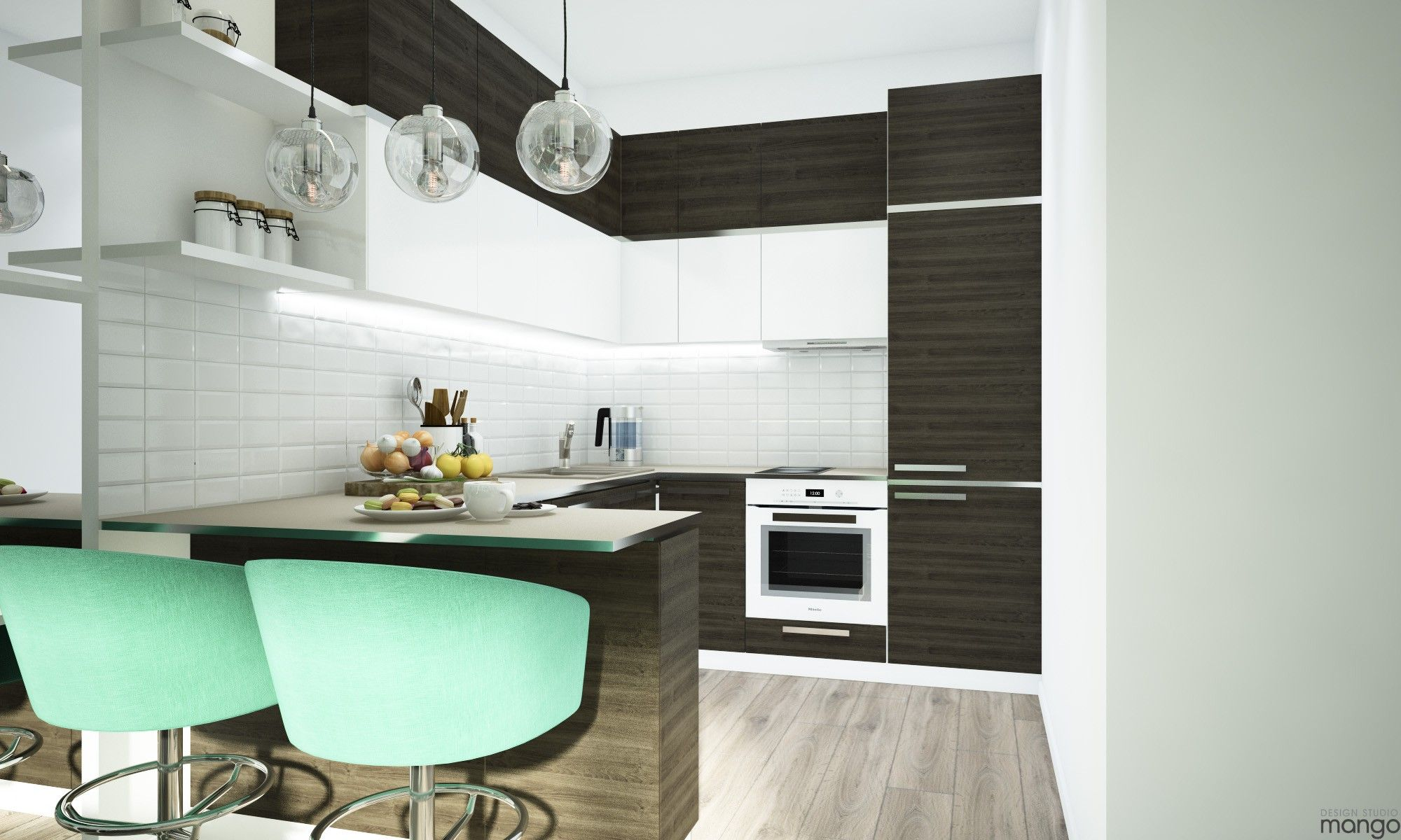 Gorgeous Studio Apartment Design With Beautiful and Perfect ...