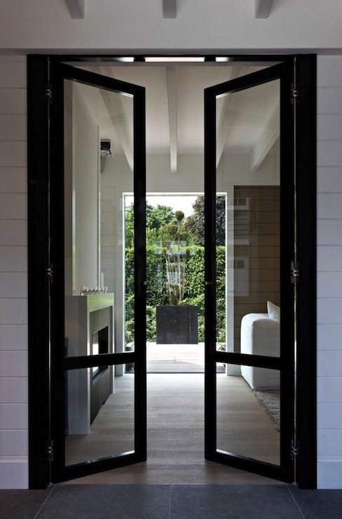 Love these doors for the screened on porch and dining area for Exterior door with window that opens