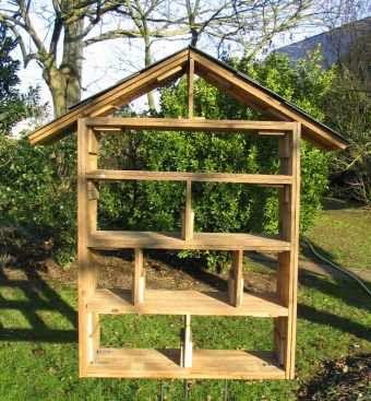 fabriquer un h tel insectes jardin pinterest insectes les plantes et milieu. Black Bedroom Furniture Sets. Home Design Ideas