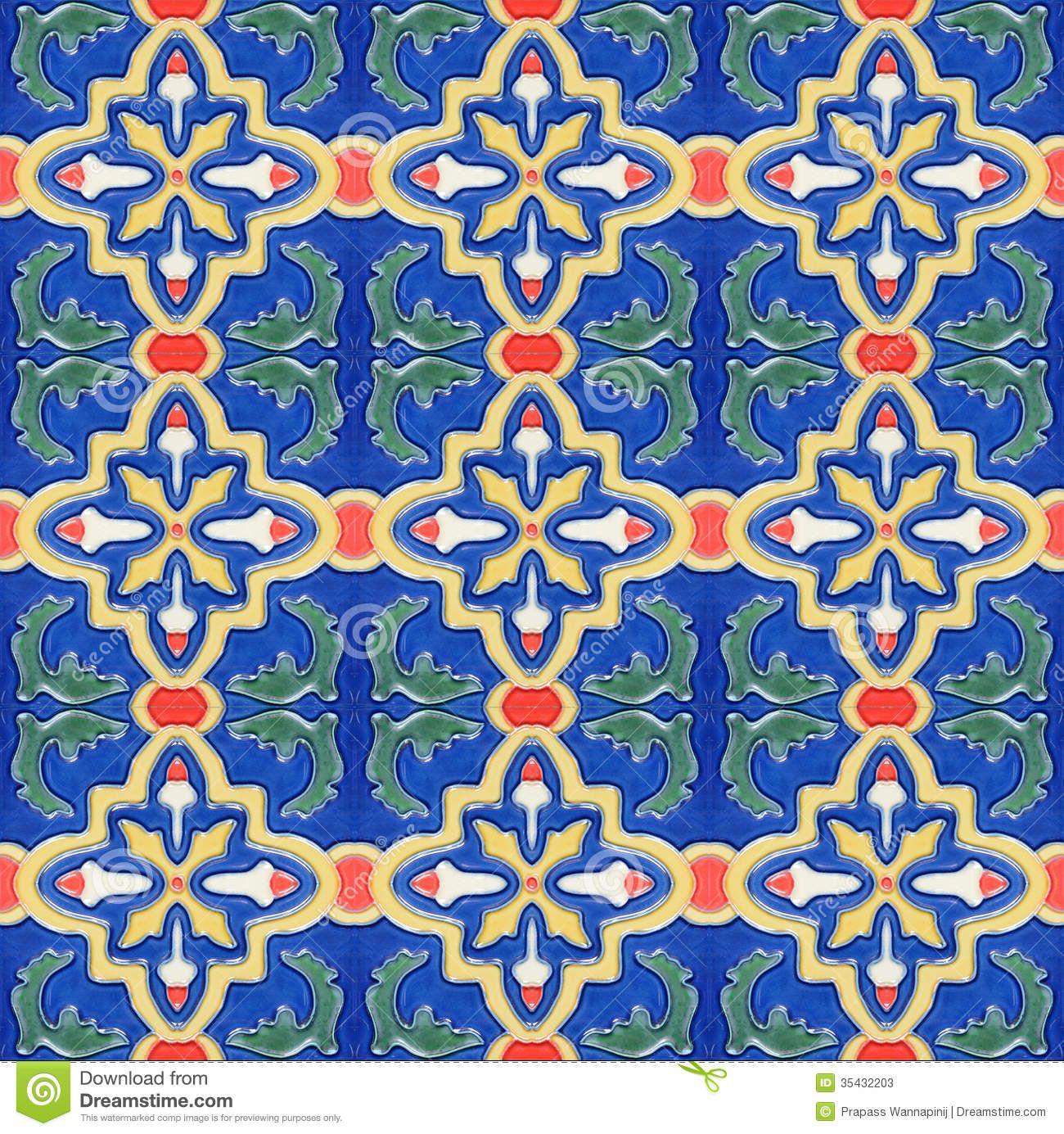 Portuguese Ceramic Tile | Portuguese Spanich Moroccan style vintage ...