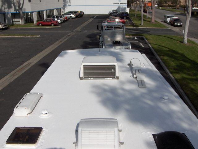 Rv Roof Replacement Materials Coating Tips Cost Rv Roof Coating Rv Maintenance